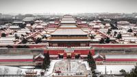 The Forbidden City in snow 11098082606| 写真素材・ストックフォト・画像・イラスト素材|アマナイメージズ