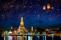 Wat Arun 11098082702| 写真素材・ストックフォト・画像・イラスト素材|アマナイメージズ