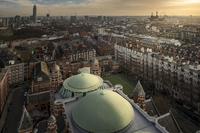 A bird's eye view of Westminster 11098082789| 写真素材・ストックフォト・画像・イラスト素材|アマナイメージズ