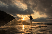 Fisherman. 11098082841| 写真素材・ストックフォト・画像・イラスト素材|アマナイメージズ