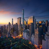 NYC morning 11098082860| 写真素材・ストックフォト・画像・イラスト素材|アマナイメージズ