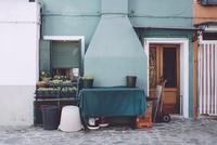 Burano house facade 11098082934| 写真素材・ストックフォト・画像・イラスト素材|アマナイメージズ