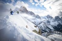 King of Dolomites 2016 Alpinism Category Winner 11098083032| 写真素材・ストックフォト・画像・イラスト素材|アマナイメージズ