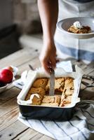 Pumpkin apple pie 11098083256| 写真素材・ストックフォト・画像・イラスト素材|アマナイメージズ