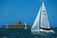 St_Malo Sailboat 2.tif 11099000255| 写真素材・ストックフォト・画像・イラスト素材|アマナイメージズ