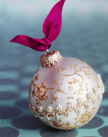 Pearlescent Christmas ornament
