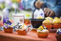 Halloween cupcakes 11100020860| 写真素材・ストックフォト・画像・イラスト素材|アマナイメージズ