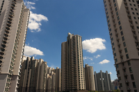 Apartment towers 11100023031| 写真素材・ストックフォト・画像・イラスト素材|アマナイメージズ