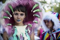 Woman wearing costume 11100024130| 写真素材・ストックフォト・画像・イラスト素材|アマナイメージズ