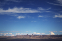 USA, Nevada, Las Vegas, Cloudy sky above rocks