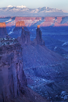Scenic view of Canyonlands National Park