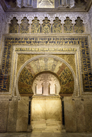 Carved arch way in Alhambra Palace