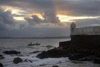 Forte Santa Maria, historic fortification, Barra quarter 11102000238| 写真素材・ストックフォト・画像・イラスト素材|アマナイメージズ