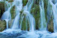 Waterfall, Plitvice Lakes National Park, Plitvicka Jezera 11102000263| 写真素材・ストックフォト・画像・イラスト素材|アマナイメージズ