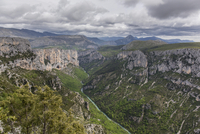 Gorges du Verdon, or Verdon Gorge, Departement 11102000304| 写真素材・ストックフォト・画像・イラスト素材|アマナイメージズ