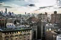 Skyline Midtown and Downtown Manhattan, New York, United