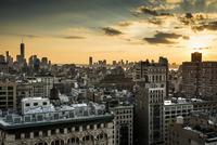 Skyline Midtown and Downtown Manhattan, New York, United 11102000478| 写真素材・ストックフォト・画像・イラスト素材|アマナイメージズ