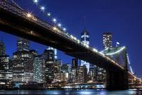 Brooklyn Bridge, views of the East River onto the Manhattan 11102000561| 写真素材・ストックフォト・画像・イラスト素材|アマナイメージズ