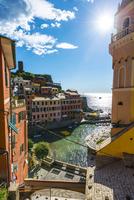 Colourful houses of Vernazza, Cinque Terre, La Spezia