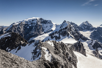View from the top of the Tuckettspitze, Stilfser Joch, on