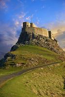 Lindisfarne Castle, 16th Century, Lindisfarne or Holy 11102000730| 写真素材・ストックフォト・画像・イラスト素材|アマナイメージズ