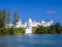 Trident Castle luxury hotel, Port Antonio, Portland region 11102000928| 写真素材・ストックフォト・画像・イラスト素材|アマナイメージズ
