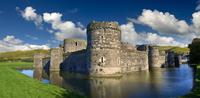 Beaumaris Castle, 1284, UNESCO World Heritage Site 11102000932| 写真素材・ストックフォト・画像・イラスト素材|アマナイメージズ