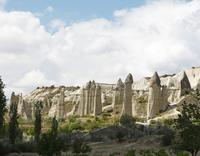 Fairy Chimneys, tufa formations in Love Valley, Goreme 11102000943| 写真素材・ストックフォト・画像・イラスト素材|アマナイメージズ