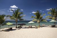 Beach at the Eco Lodge Resort, Phu Quoc, Vietnam, Asia 11102001068| 写真素材・ストックフォト・画像・イラスト素材|アマナイメージズ