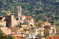 The historic centre of Grasse and the Cathedral Notre-Dame 11102001119| 写真素材・ストックフォト・画像・イラスト素材|アマナイメージズ
