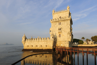 Torre de Belem or Belem Tower, River Tagus, Lisbon 11102001142| 写真素材・ストックフォト・画像・イラスト素材|アマナイメージズ