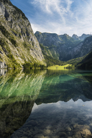Obersee, Konigssee, Berchtesgaden National Park 11102001633  写真素材・ストックフォト・画像・イラスト素材 アマナイメージズ