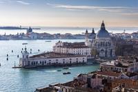 Santa Maria della Salute, Venice, Veneto, Italy, Europe 11102001635| 写真素材・ストックフォト・画像・イラスト素材|アマナイメージズ