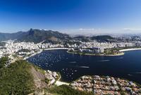 View of Rio de Janeiro from the Pao de Acucar, Rio de 11102001663| 写真素材・ストックフォト・画像・イラスト素材|アマナイメージズ