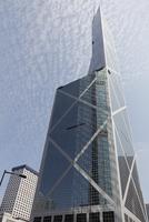 Bank of China Tower, architect I. M. Pei, District Central 11102001685| 写真素材・ストックフォト・画像・イラスト素材|アマナイメージズ