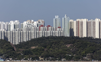 Residential towers, social housing, Kwun Tong District 11102001686| 写真素材・ストックフォト・画像・イラスト素材|アマナイメージズ