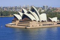 Sydney Opera House, Sydney, New South Wales, Australia 11102001724| 写真素材・ストックフォト・画像・イラスト素材|アマナイメージズ