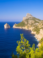 Cap de Formentor, Majorca, Balearic Islands, Spain, Europe