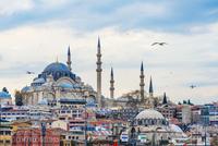 Suleymaniye Mosque, Golden Horn, Istanbul, Turkey, Asia