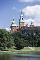 The Wawel Cathedral and Castle, Krakow (Cracow), Poland