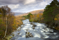 Torridon River, Glen Torridon, Wester Ross, Highlands, Scotland