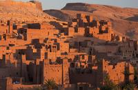 Kasbah Ait Benhaddou, an ancient fortified village (Ksar) on the old caravan route between The Sahara Desert and Marrakech