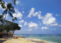 Beach at Paynes Bay, Barbados, Caribbean