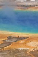 Grand Prismatic Spring, Midway Geyser Basin, Yellowstone National Park 11104006076| 写真素材・ストックフォト・画像・イラスト素材|アマナイメージズ