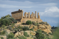 Temple of Juno, Valley of the Temples, Agrigento, Sicily