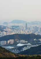 City skyline, Busan, South Korea
