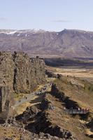 Mid-Atlantic Rift zone, Thingvellir National Park, Iceland 11104009313| 写真素材・ストックフォト・画像・イラスト素材|アマナイメージズ