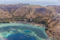 Harbor at Labuan Bajo, Flores Island, Indonesia, Southeast Asia