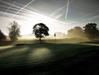 Golf course at Mottram Hall, England