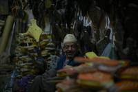 Street vendor in Morocco